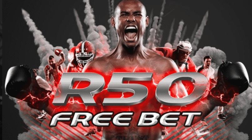 Supabets R50 FREE BETS