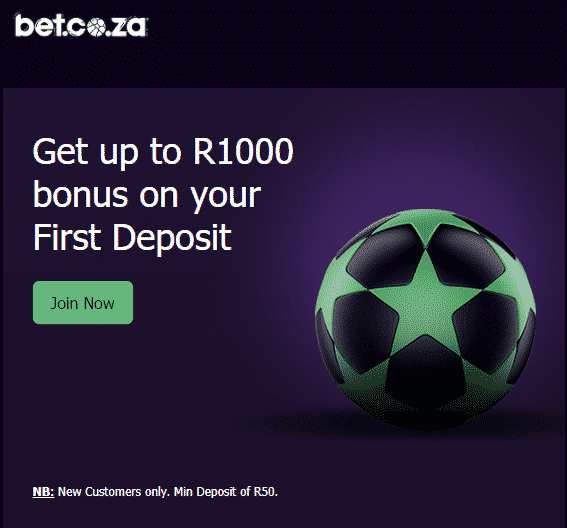 bet.co.za match bonus