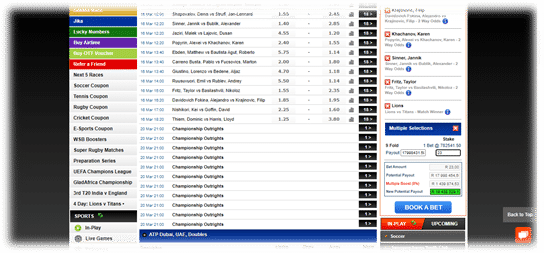 world sports betting sportsbook overview