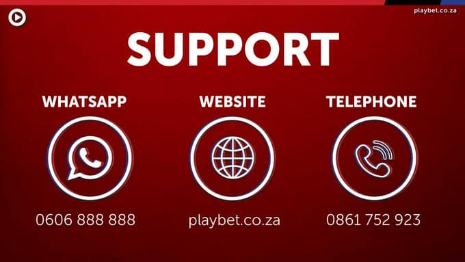 Playbet customer support