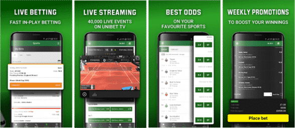 Unibet South Africa mobile
