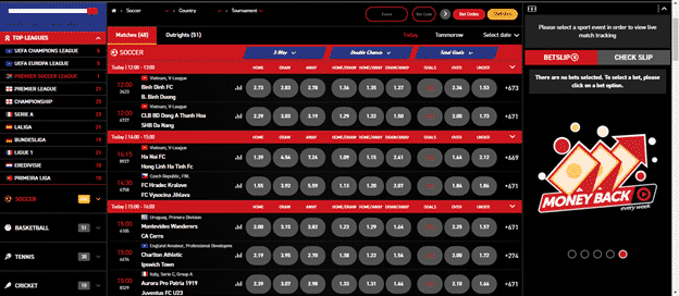 playbet sports options