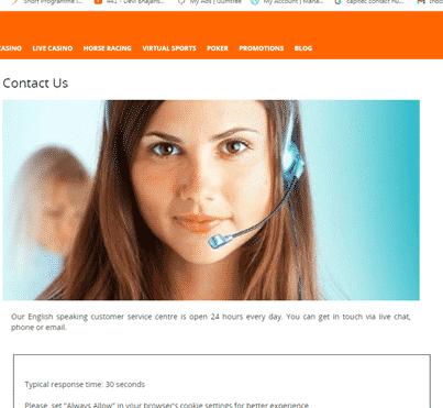 Betsson customer service South Africa
