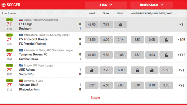 Sports options with Powerbets South Africa
